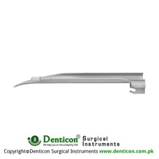 Apollo™ Standard Miller Laryngoscope Blade Fig. 0 - For Babies Stainless Steel, Working Length 55 mm