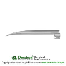 Apollo™ Standard Miller Laryngoscope Blade Fig. 2 - For Adolescents Stainless Steel, Working Length 130 mm