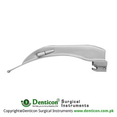 Apollo™ Standard McIntosh Laryngoscope Blade Fig. 4 - For Men Stainless Steel, Working Length 135 mm