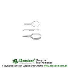 Mini Vessel Clip Stainless Steel, 17 mm Jaw Size 8.0 x 2.0 mm