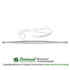 Penfield Dura Dissector Fig.1 Stainless Steel, 22 cm - 8 3/4""