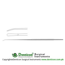 "Rhoton Micro Dissector Spatula Shaped Stainless Steel, 18.5 cm - 7 1/4"" Tip Size 2.0 mm"