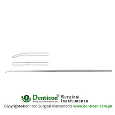 "Rhoton Micro Dissector Spatula Shaped Stainless Steel, 18.5 cm - 7 1/4"" Tip Size 1.5 mm"