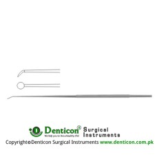 "Rhoton Micro Dissector Round Shaped Stainless Steel, 18.5 cm - 7 1/4"" Diameter 3.0 mm Ø"