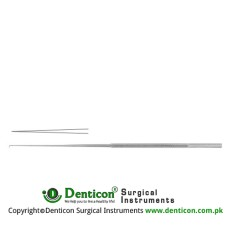 Rhoton Micro Needle Semi-Sharp Stainless Steel, 18.5 cm - 7 1/4""
