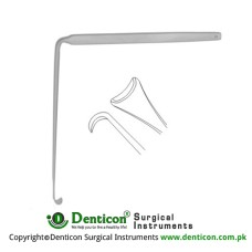 Love Nerve Root Retractor Angled 90° Stainless Steel, 11 cm - 4 1/4""