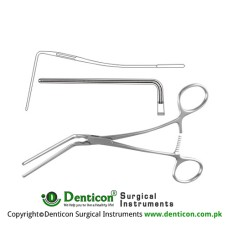 DeBakey Atrauma Multipurpose Vascular Clamp Stainless Steel, 18.5 cm - 7 1/4""