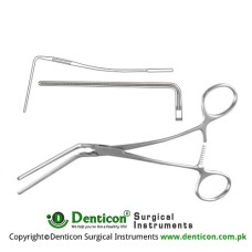DeBakey Atrauma Multipurpose Vascular Clamp Stainless Steel, 21.5 cm - 8 1/2""
