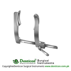 Castaneda Rib Spreader For Infants Aluminium, Size of Lateral Blades - Spread 15 x 60 mm - 120 mm
