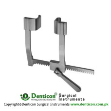 DeBakey Rib Spreader Only Stainless Steel, Spread 150 mm