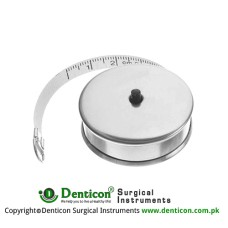 Measuring Tape Graduated in cm and inches Stainless Steel, 150 cm - 59""