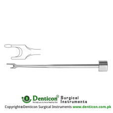 Terry Septal Osteotome Stainless Steel, 19 cm - 7 1/2""