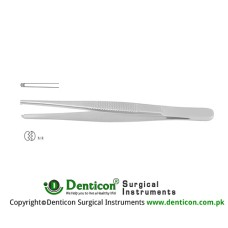Standard Pattern Dissecting Forceps 1 x 2 Teeth Stainless Steel, 20 cm - 8""