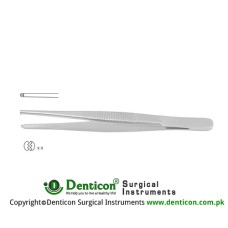 Standard Pattern Dissecting Forceps 1 x 2 Teeth Stainless Steel, 25 cm - 9 3/4""