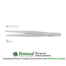 Dissecting Forceps 2 x 3 Teeth Stainless Steel, 14.5 cm - 5 3/4""