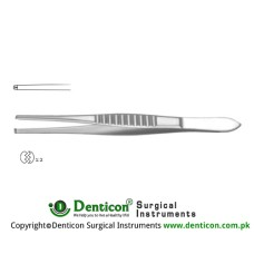Mod. USA Dissecting Forcep 1 x 2 Teeth Stainless Steel, 16 cm - 6 1/4""