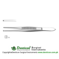 Mod. USA Dissecting Forceps 1 x 2 Teeth Stainless Steel, 23 cm - 9""