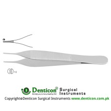 Mini-Adson Dissecting Forcep 1 x 2 Teeth Stainless Steel, 12 cm - 4 3/4""