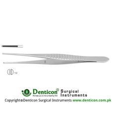 Gillies Dissecting Forceps 1 x 2 Teeth Stainless Steel, 15.5 cm - 6""