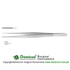 Waugh Dissecting Forceps 1 x 2 Teeth Stainless Steel, 20.5 cm - 8""
