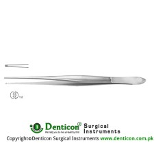 Cushing Dissecting Forceps 1 x 2 Teeth Stainless Steel, 20 cm - 8""