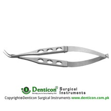 Blaydes Lens Holding Forcep Angled 45° - Very Delicate Narrow Jaws Stainless Steel, 11.5 cm - 4 1/2""