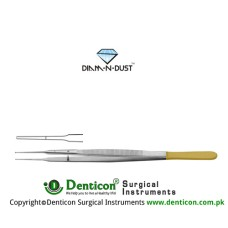 "Diam-n-Dust™ Gerald Micro Suturing Forcep Stainless Steel, 20 cm - 8"" Tip Size 1.0 mm"