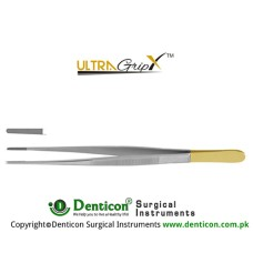 UltraGrip™ TC Potts-Smith Dressing Forcep Stainless Steel, 25 cm - 9 3/4""
