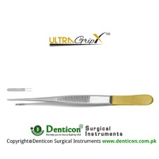 UltraGrip™ TC Semken Dissecting Forcep 1 x 2 Teeth Stainless Steel, 16 cm - 6 1/4""