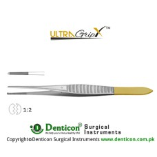 UltraGrip™ TC Gillies Dissecting Forcep 1 x 2 Teeth Stainless Steel, 15.5 cm - 6""