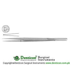 "Micro Pierse Forcep With Counter Balance Stainless Steel, 18 cm - 7"" Diameter 0.30 mm"