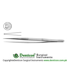 "Micro Pierse Forcep Stainless Steel, 18 cm - 7"" Diameter 0.40 mm"