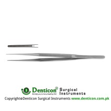 "Micro Atrauma Forcep Stainless Steel, 18 cm - 7"" Tip Size 1.2 mm"
