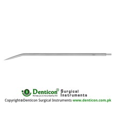 "Redon Guide Needle 8 Charr. - Lancet Tip Stainless Steel, 19.5 cm - 7 3/4"" Tip Size 2.7 mm"