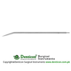 "Redon Guide Needle 10 Charr. - Lancet Tip Stainless Steel, 19.5 cm - 7 3/4"" Tip Size 3.3 mm"