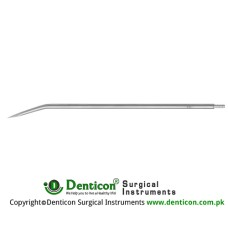 "Redon Guide Needle 14 Charr. - Lancet Tip Stainless Steel, 19.5 cm - 7 3/4"" Tip Size 4.7 mm"
