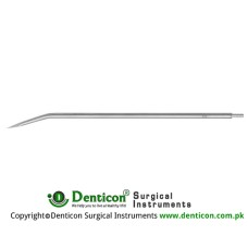 "Redon Guide Needle 10 Charr. - Trocar Tip Stainless Steel, 19.5 cm - 7 3/4"" Tip Size 3.3 mm"