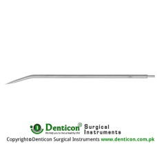 "Redon Guide Needle 16 Charr. - Trocar Tip Stainless Steel, 19.5 cm - 7 3/4"" Tip Size 5.3 mm"