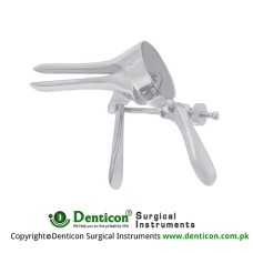 Cusco (Virgin) Vaginal Speculum Stainless Steel - Aluminium, Blade Size 75 x 18 mm