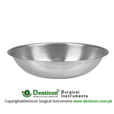 Round Bowl 150 ccm Stainless Steel, Size Ø 110 x 25 mm