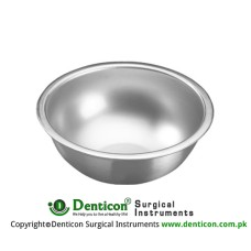 Bowl 140 ccm Stainless Steel, Size Ø 80 x 40 mm