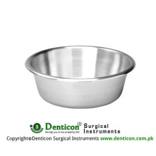 Round Bowl Stainless Steel, Size Ø 220 x 70 mm