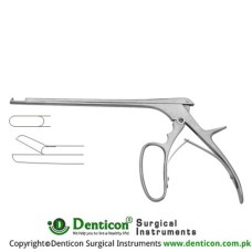 "Ferris-Smith Leminectomy Rongeur Straight Stainless Steel, 15.5 cm - 6"" Bite Size 3 mm"