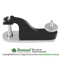 Gomco Circumcision Clamp Brass - Chrome Plated, Diameter 8 mm Ø