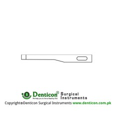 Micro Scalpel Blade No. 62 Pack of 25 Stainless Steel,