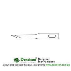 Micro Scalpel Blade No. 66 Pack of 25 Stainless Steel,