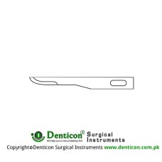 Micro Scalpel Blade No. 67 Pack of 25 Stainless Steel,