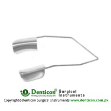 Barraquer Wire Speculum Solide Blades Stainless Steel, Blade Size 10 mm