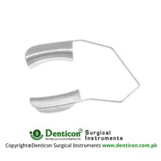 Feaster Wire Speculum Solide Blades Stainless Steel, Blade Size 20 mm