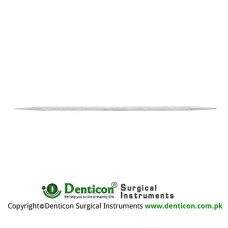 Castroviejo Lacrimal Dilator Double Ended Fine and Meadium Taper Stainless Steel, 14 cm - 5 1/2""